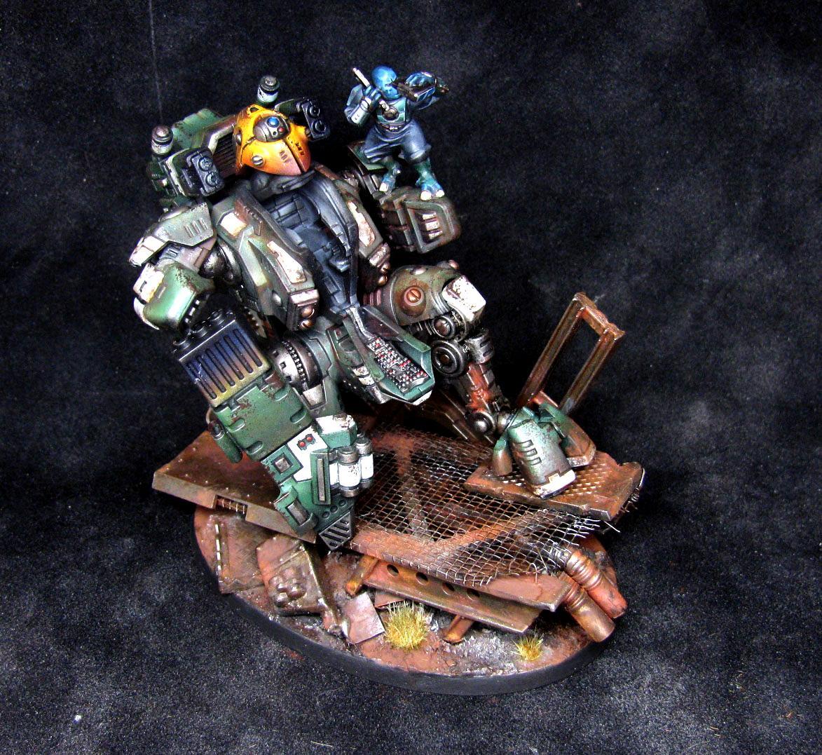 Mech, Robot, Suit, Tau, Warhammer 40,000