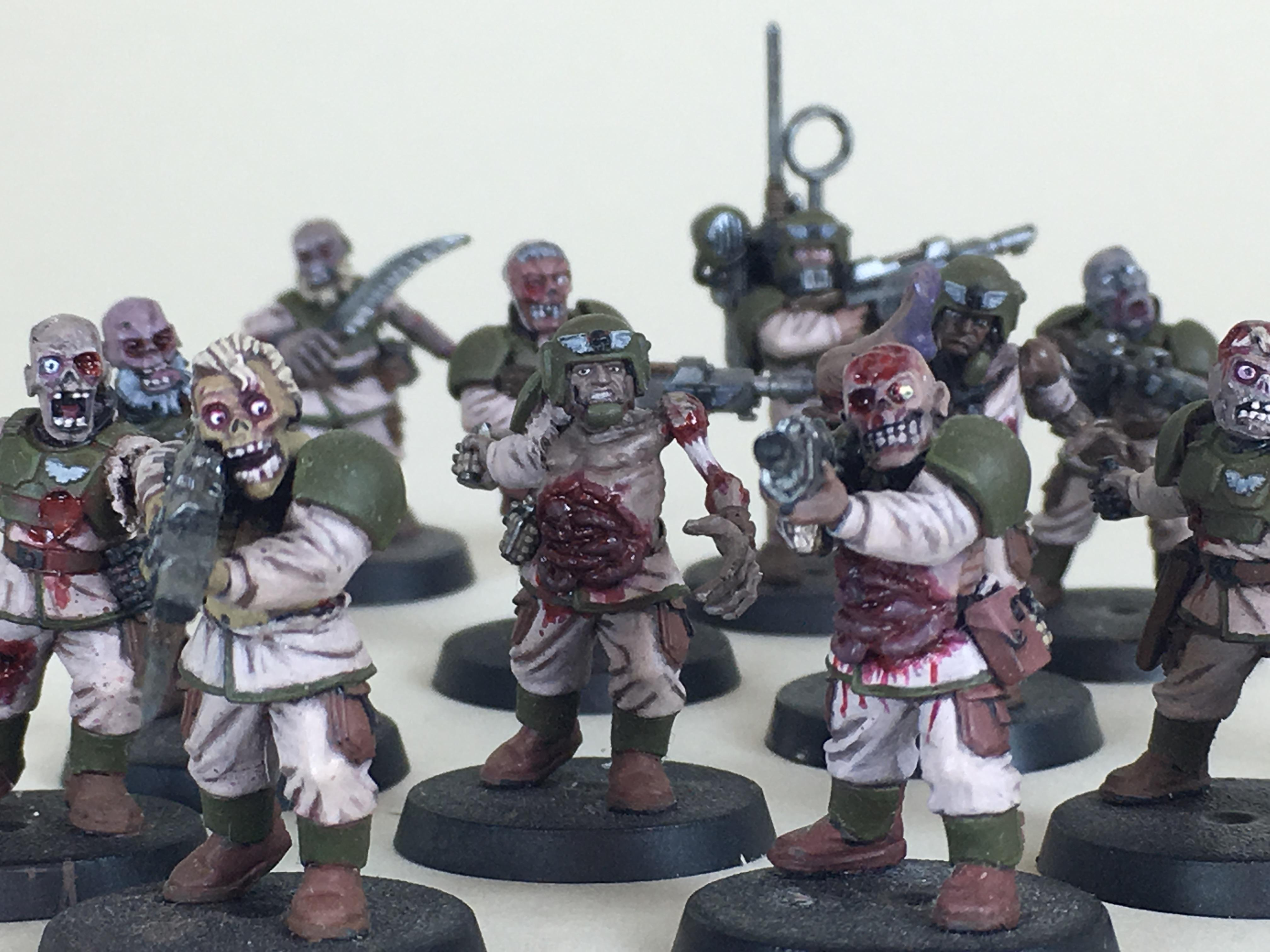 Chaos, Cultist, Imperial Guard, Lords Of Decay, Nurgle, Nurgle's Rot, Plague Cultist, Plague Zombies, Traitor, Traitor Guard, Typhus, Warhammer 40,000, Zombie