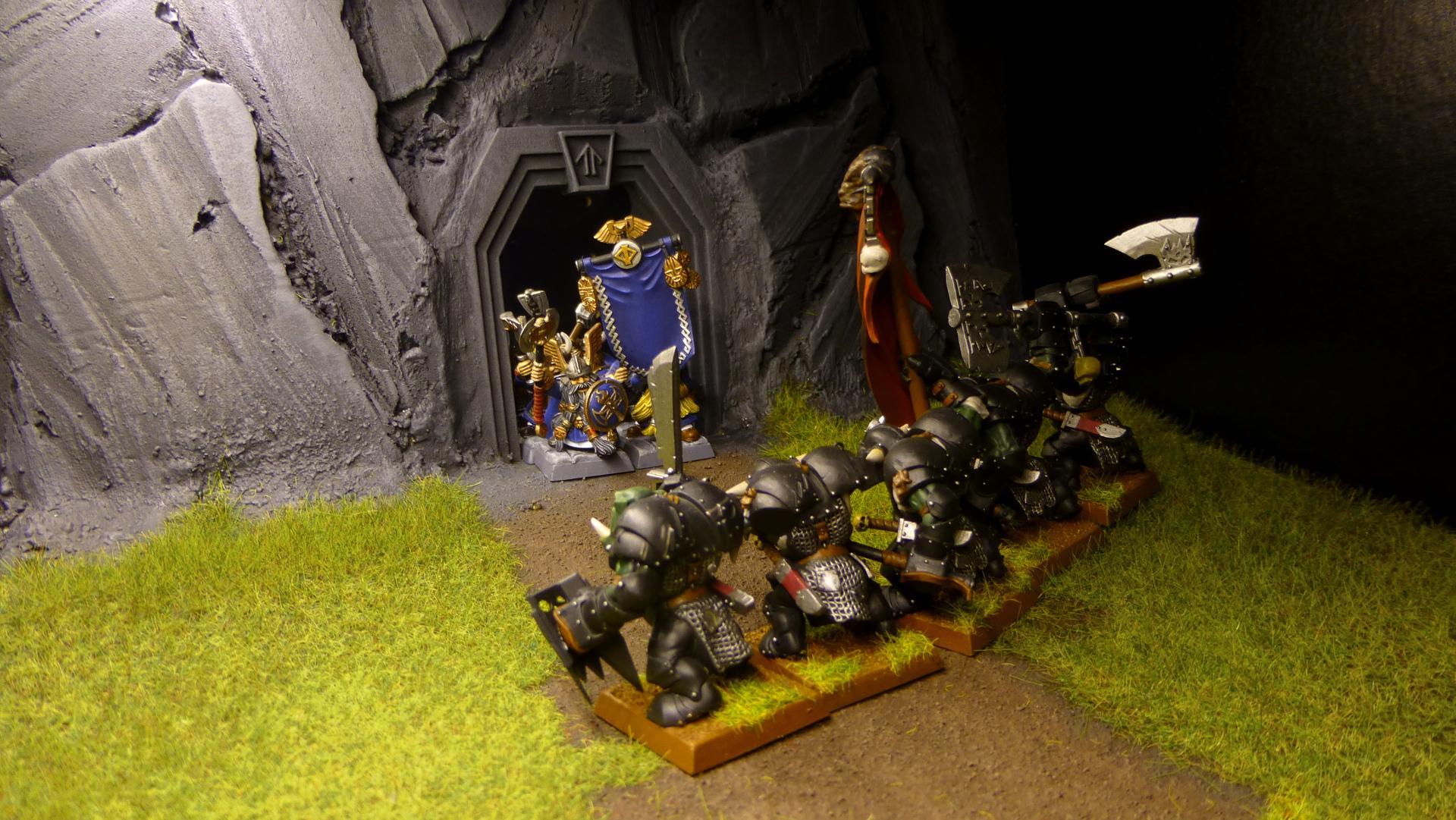 Black Orcs, Dwarves, Mine, Warriors