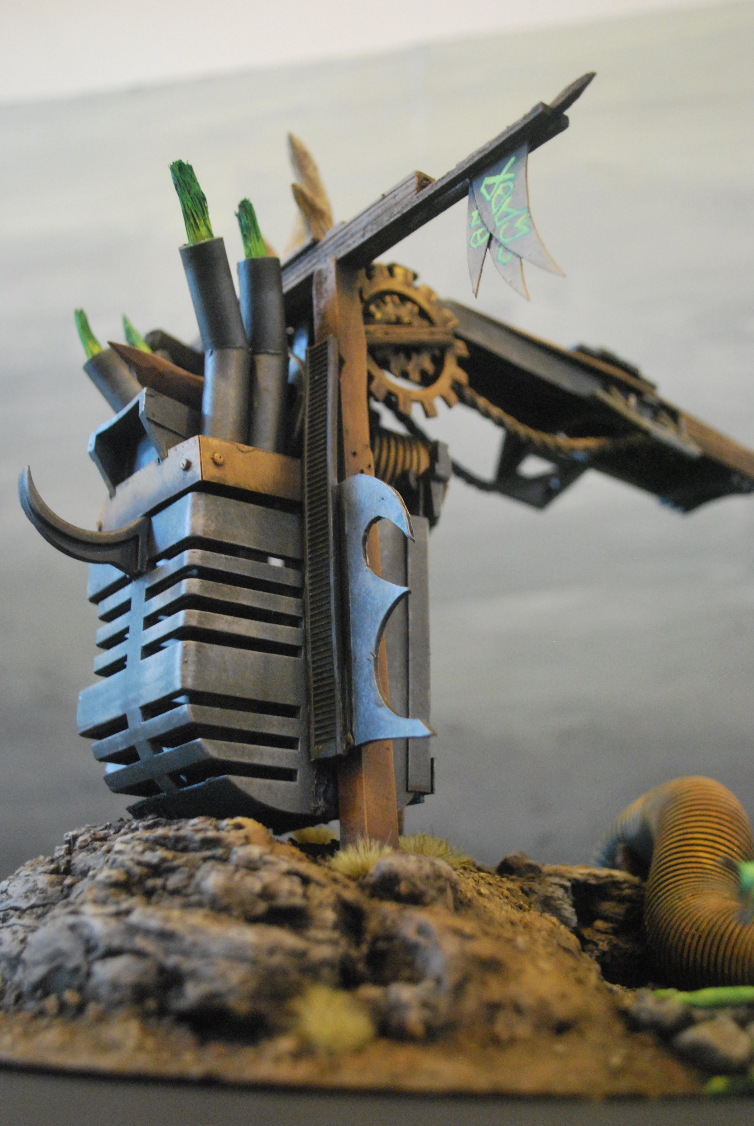 Cryx, Necrons, Scratch Build, Terrain, Warhammer 40,000, Warmachine