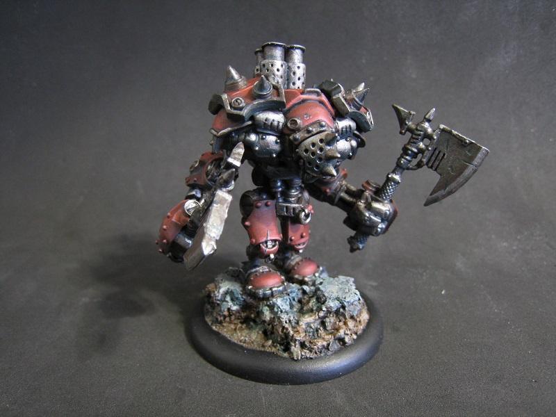 Berserkers, Drago, Khador, Warjack