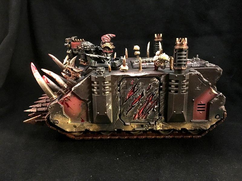 Chaos Space Marines, Heretic Astartes, Rhino, Warhammer 40,000