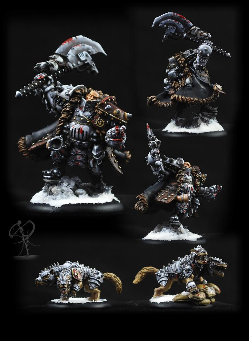 Khador, Non-Metallic Metal, Privateer Press, Russians, Steampunk, Warmachine, Winter