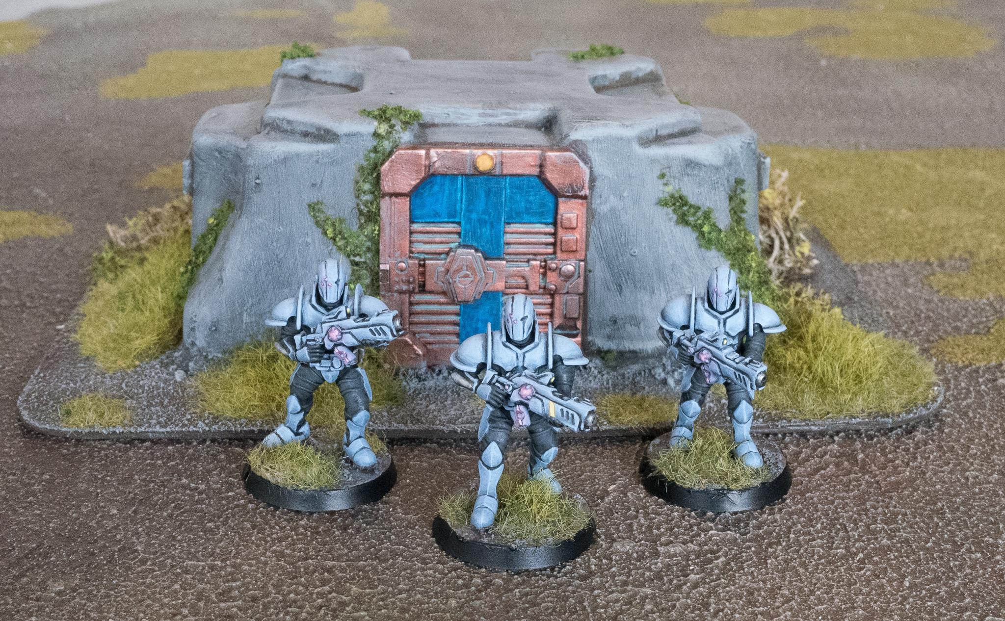 Buildings, Bunker, Karist, Maelstrom's Edge, Terrain, Troopers