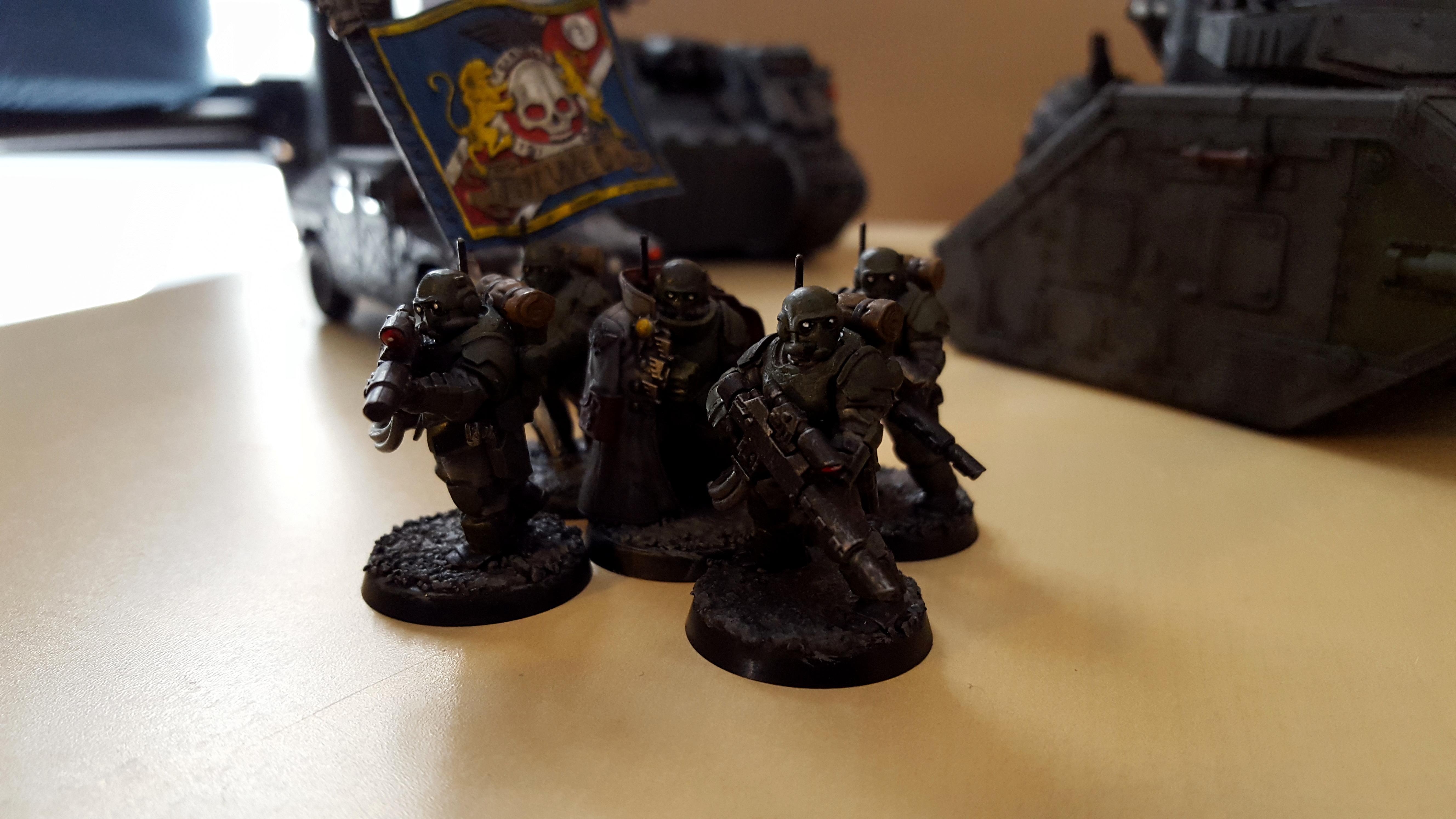 Command, Command Squad, Headquarters, Kasrkin, Militarum Tempestus, Scion, Spec Ops, Special Ops, Standard, Stormtrooper