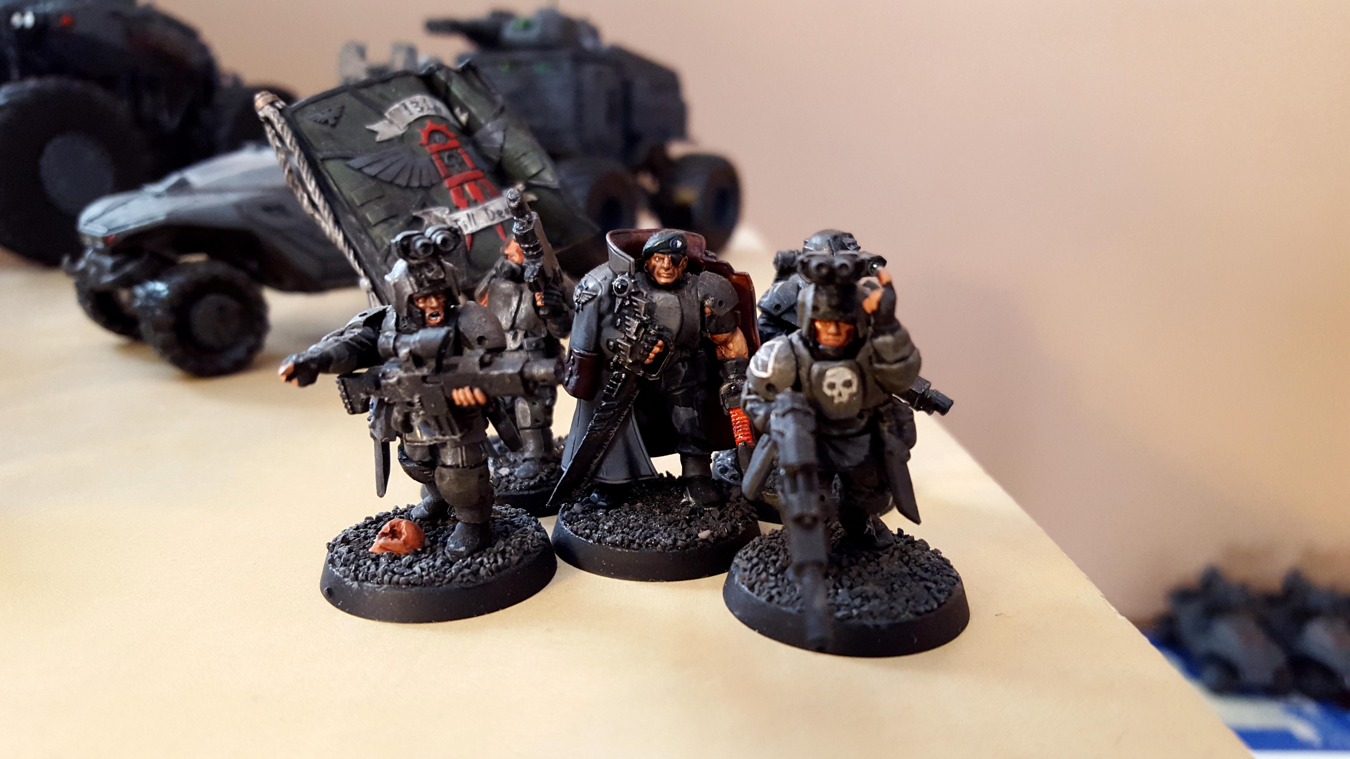 Command, Command Squad, Headquarters, Kasrkin, Militarum Tempestus, Scion, Spec Ops, Special Ops, Standard, Storm Troopers, Stormtrooper