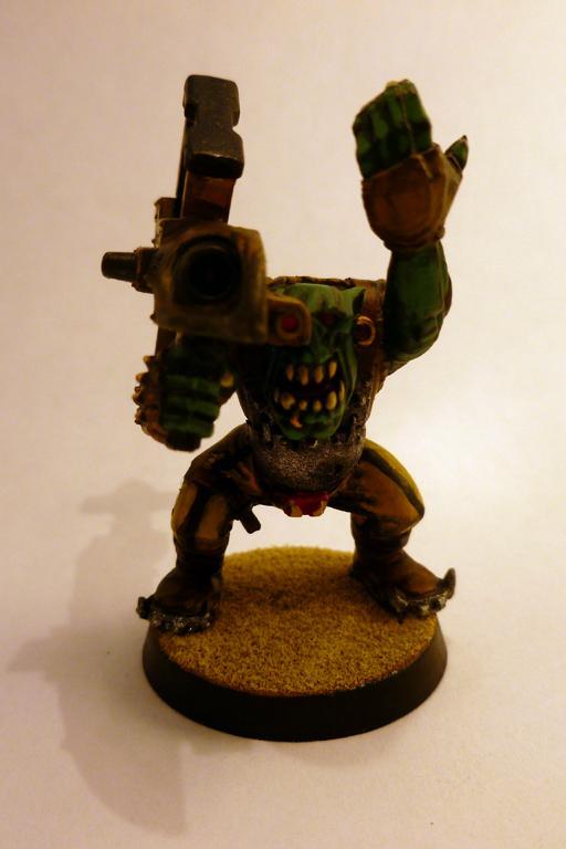 Horus Heresy, Iron Fists, Legion Missile Launcher, Looted, Orks, Tankbustas, Warhammer 30k, Warhammer 40,000