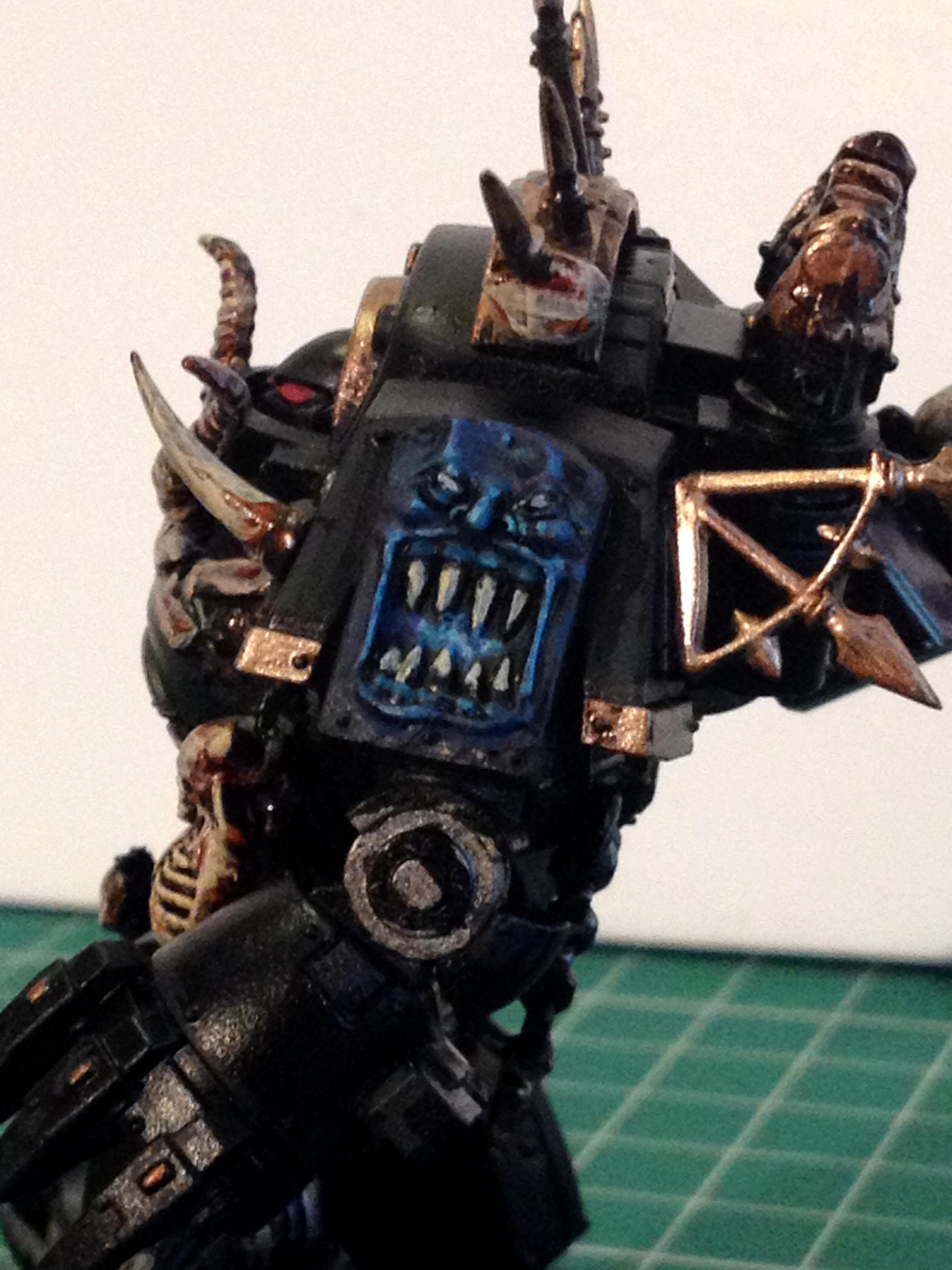 Betrayal At Calth, Black Legion, Chaos, Contemptor, Dreadnought