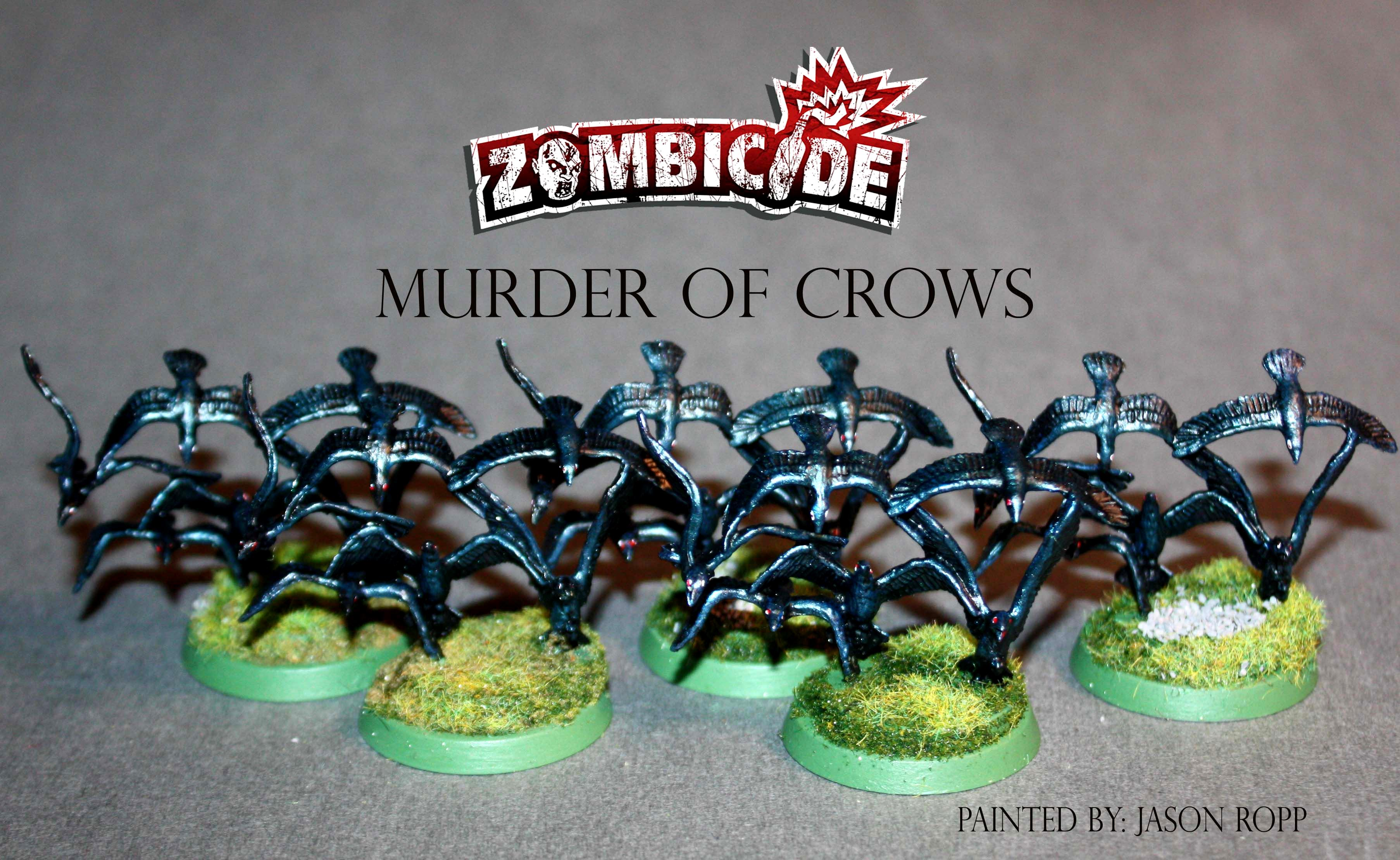 28mm, 32mm, Abominaton, All Out War, Andrea, Attack, Battle, Cool Mini Or Not, Crows, Game, Gamenight, Michone, Miniature, Miniatures, Murder, Neegan, Ral Partha, Ravens, Rick, Skirmish, Survivors, Undead, Walkers, Walking Dead, Wargame, Wargamer, Wargames Factory, Zombicide, Zombie, Zombivors