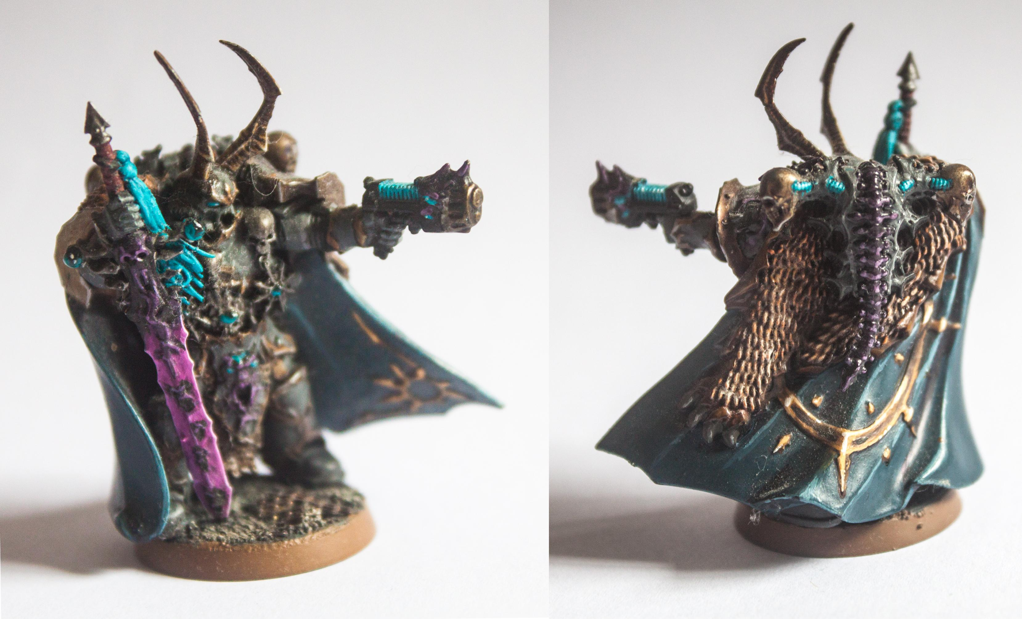 Chaos, Chaos Lord, Chaos Space Marines, Crystals, Dark Vengance, Lord, Non-Metallic Metal, Space Marines, Touch Of Chaos, Urban Base, Warhammer 40,000
