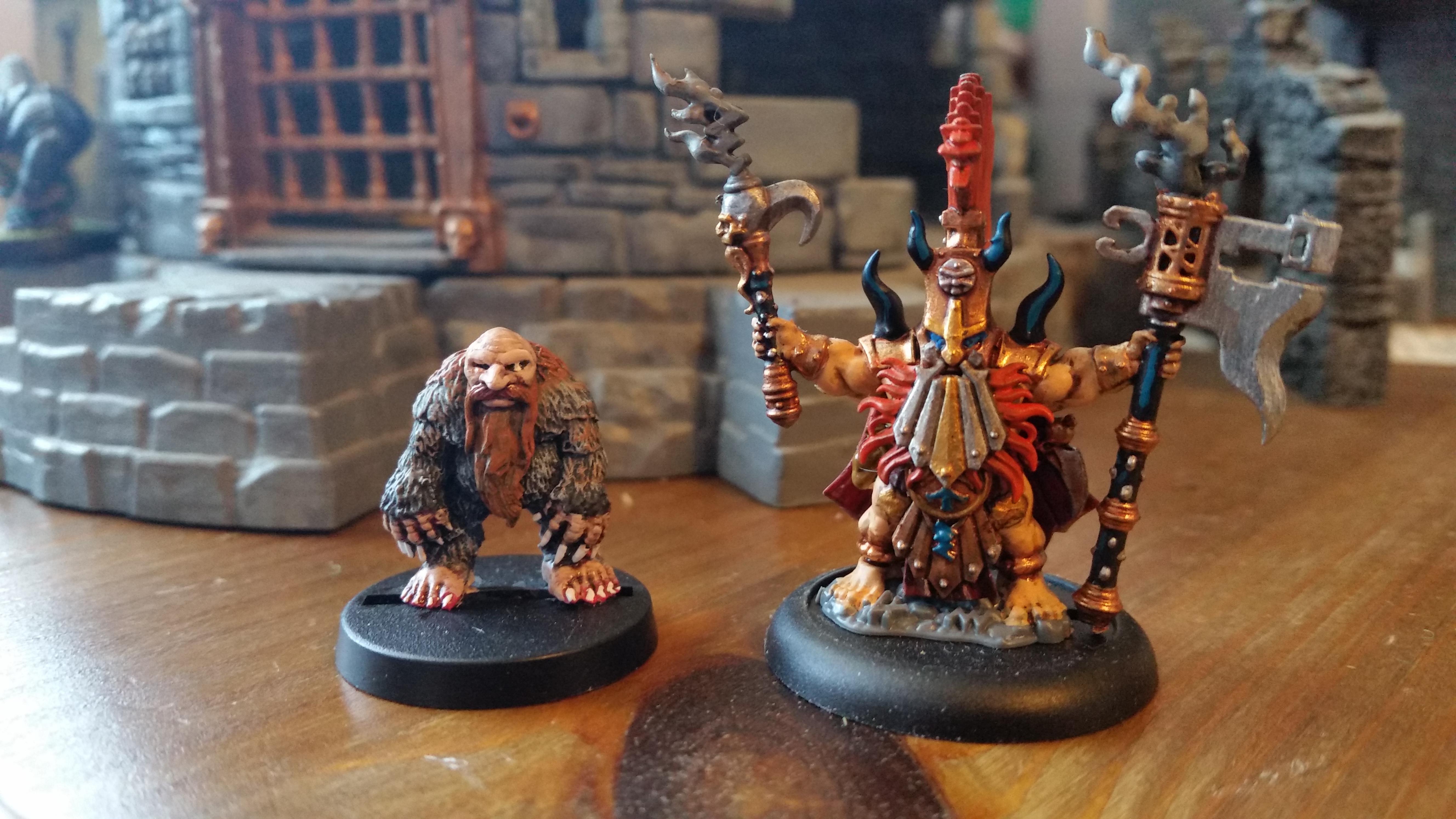 Dwarves, Fyreslayer, Ganesha Games, Runesmith, Weremole