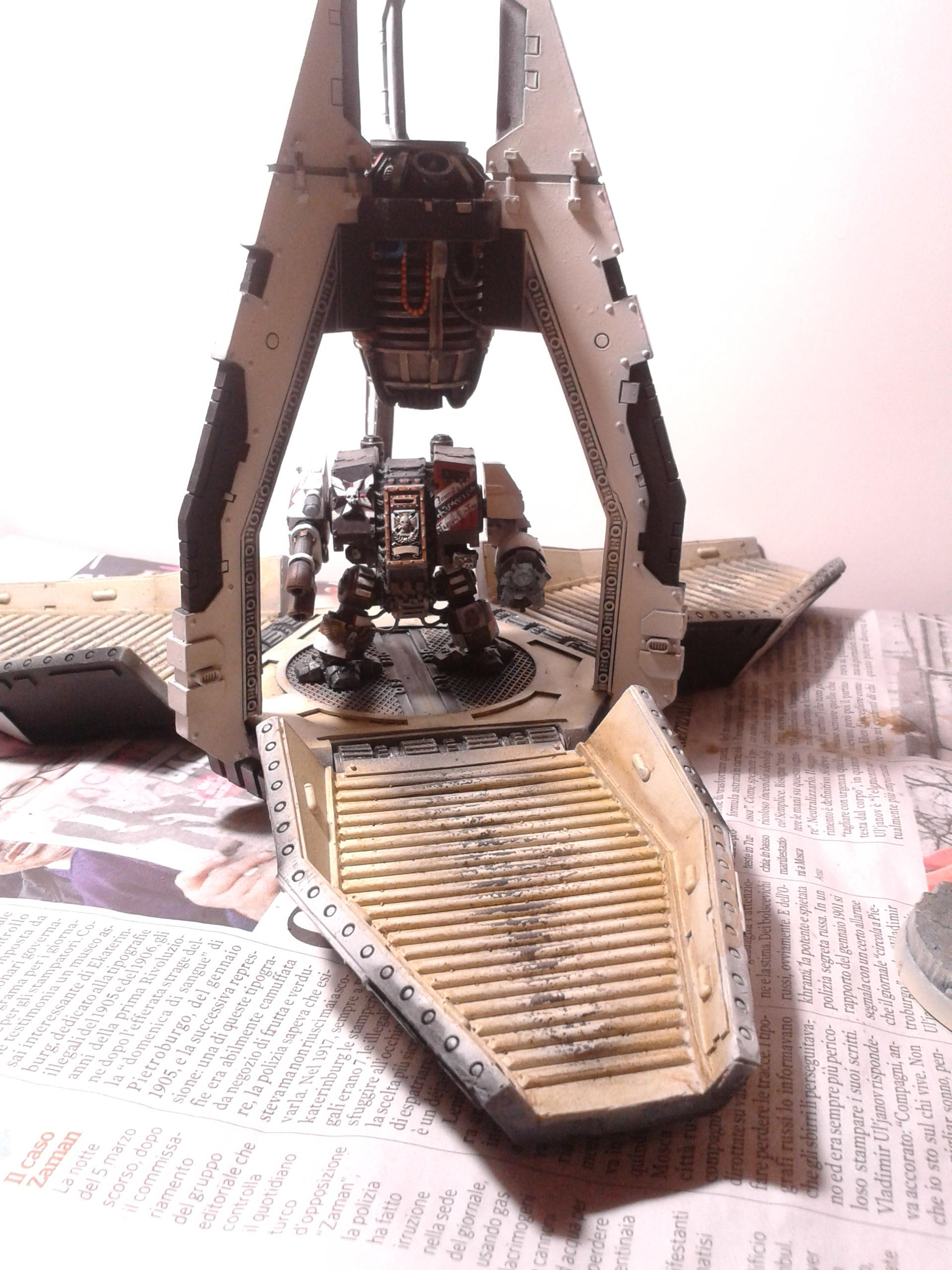 Black Templars, Dreadnought, Drop Pod