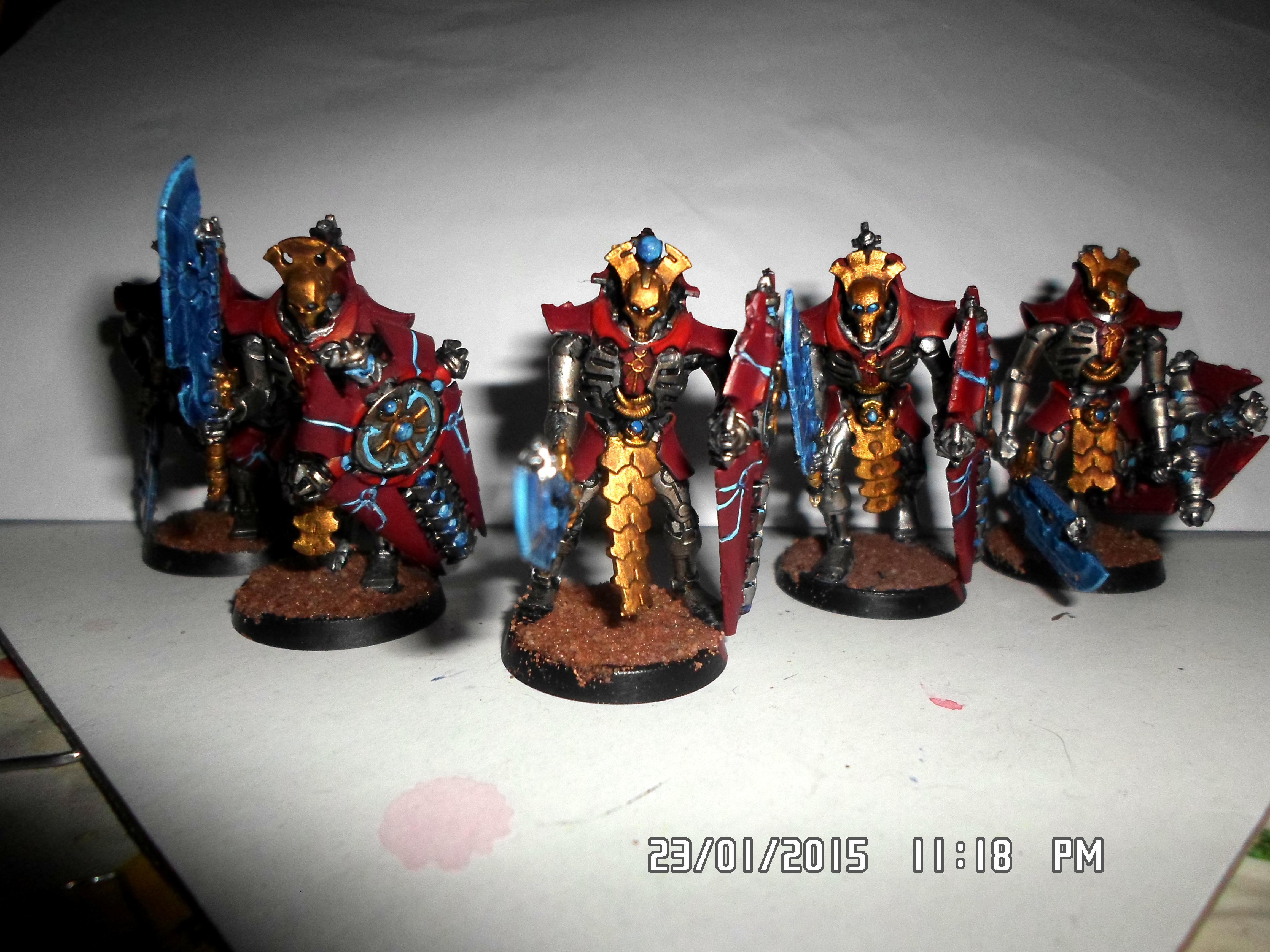 Gold, Lychguard, Necrons, Shiny