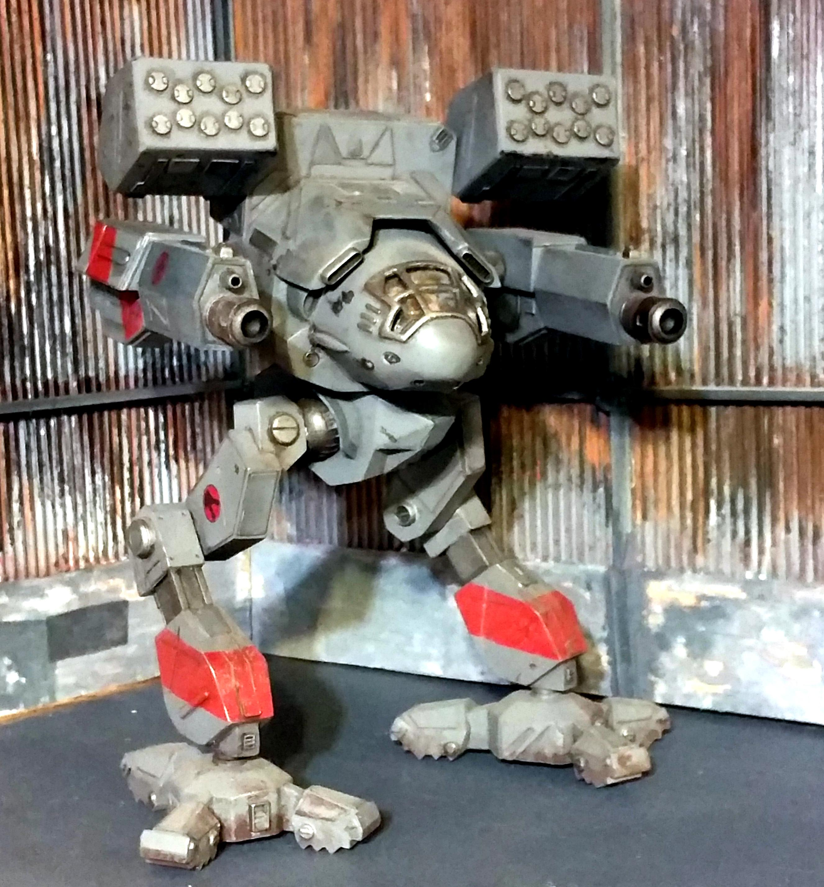 1:60 Battletech, Battlemech, Mechwarror