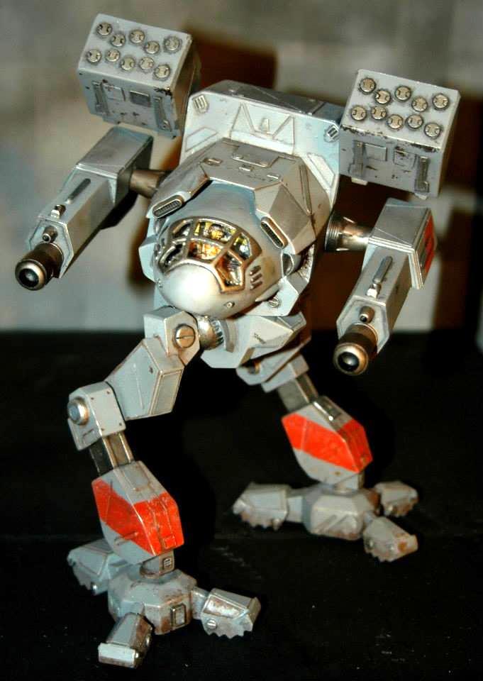 1%3a60 Battletech, 1/60 Scale, 1:60 Battletech, Battlemech, Mad Cat, Mechwarror, Timber Wolf