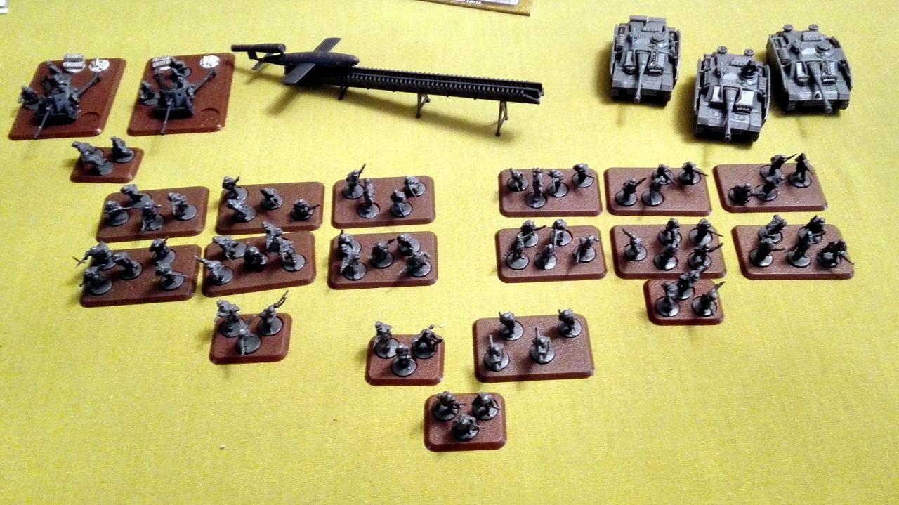 Flames Of War, FoW Germans built