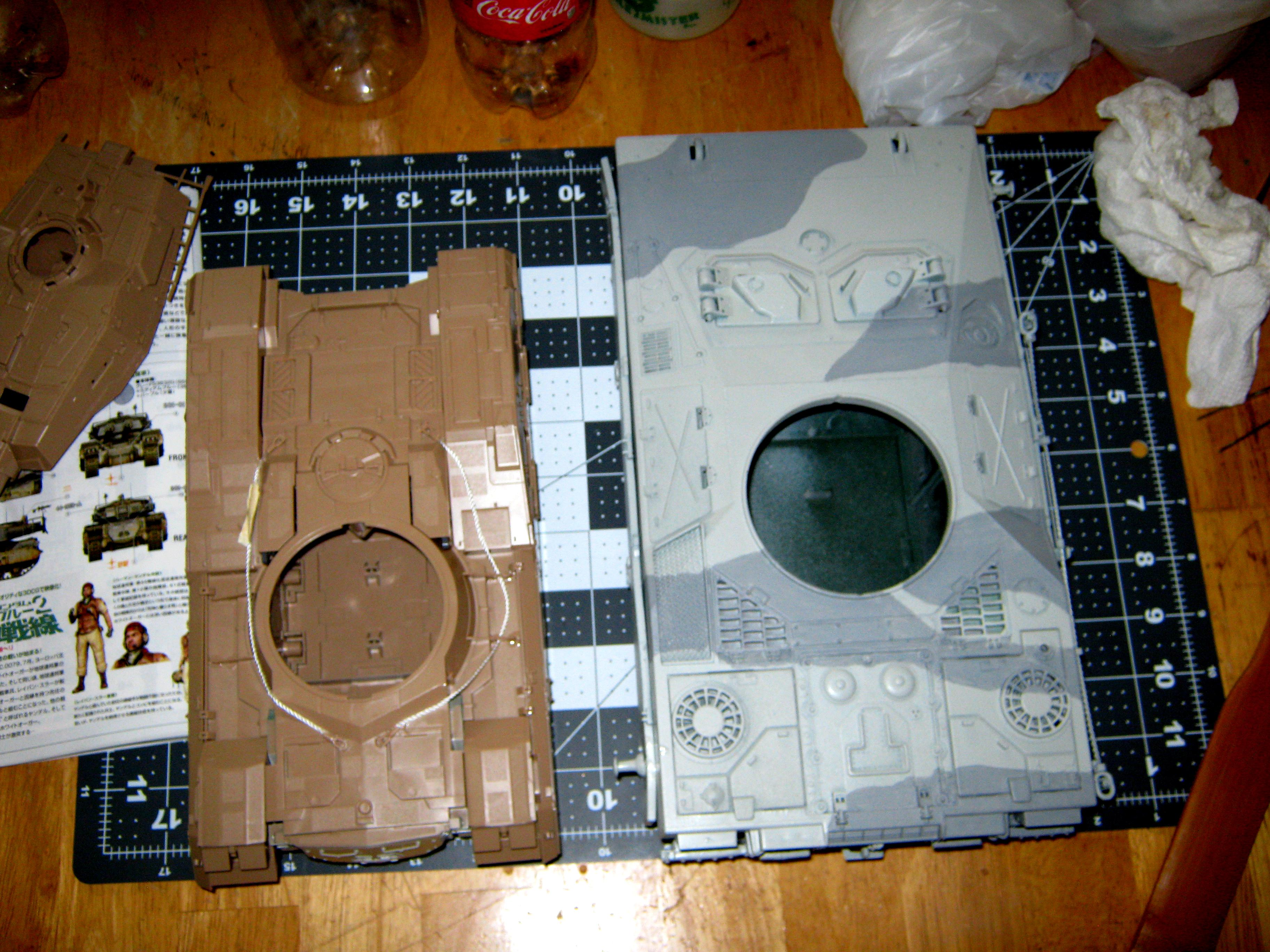 Gundam, M61a5, Super-heavy, Tank, Type 61