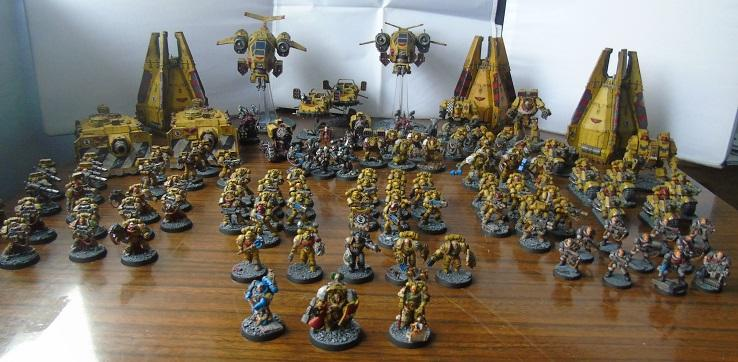 Army Showcase, Imperial Fists, Space Marines