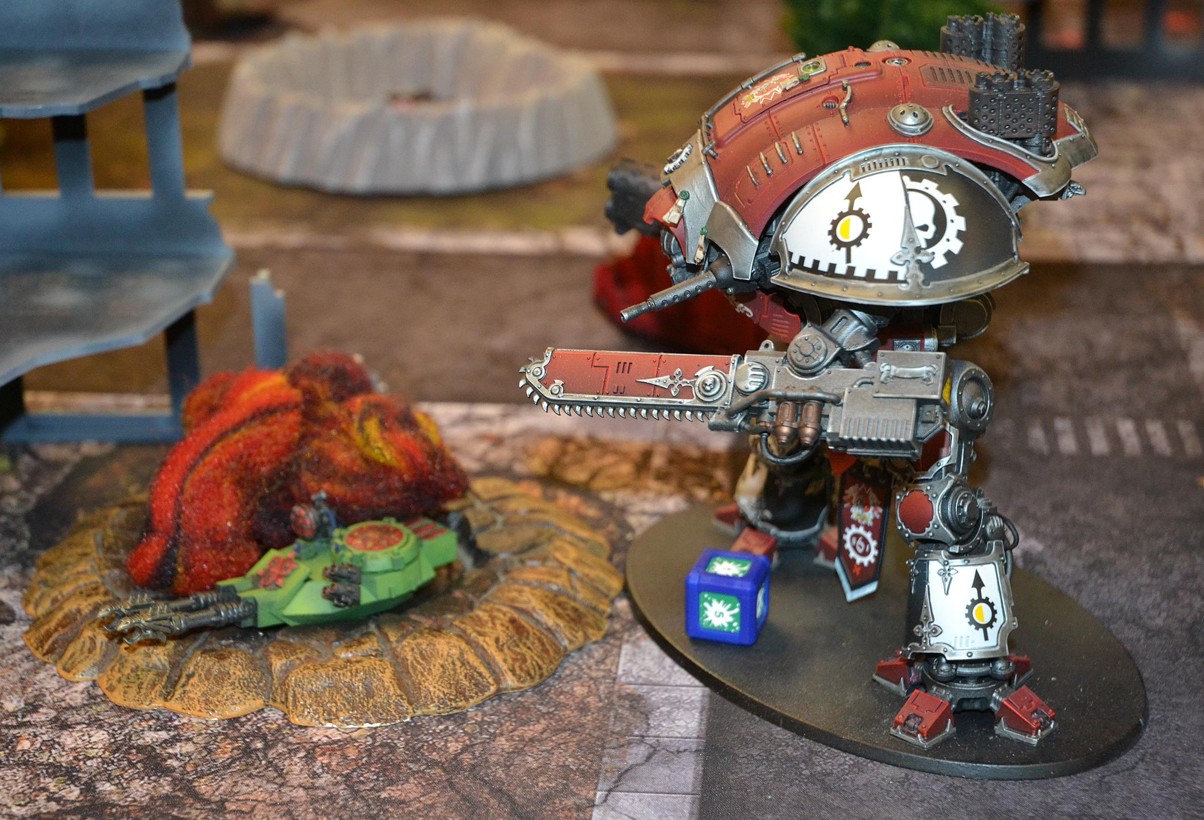 Battle Report, Chaos, Skitarii, Warhammer 40,000