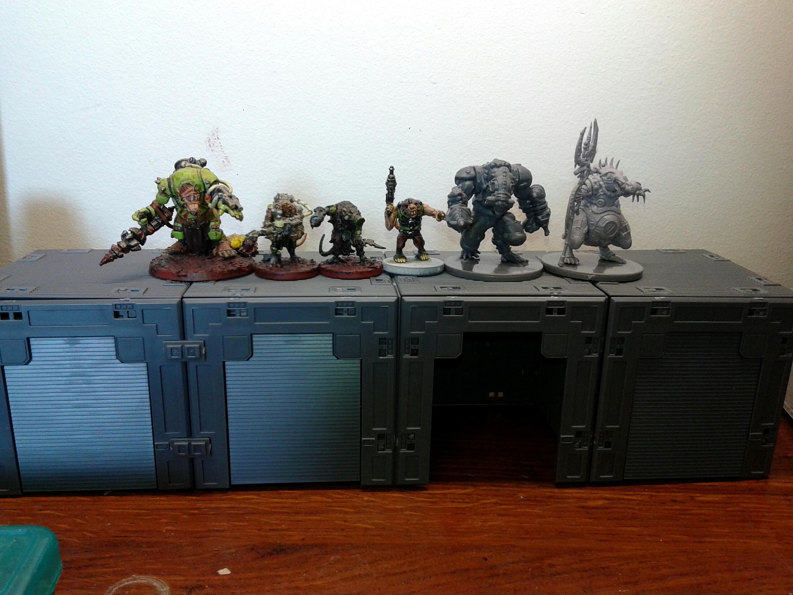 Battlezone, Deadzone, Enforcers, Size, Terrain, Veermyn