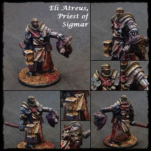 Age Of Sigmar, Devoted Of Sigmar, Freeguild, Non-Metallic Metal, Priest, Sigmar, Warhammer Fantasy, Warrior Priest
