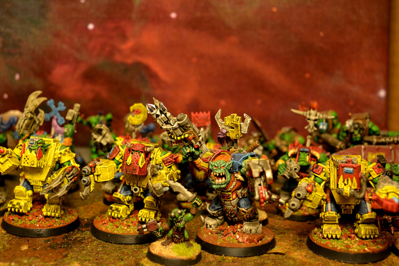 Orks, Orruk, Warhammer 40,000, Warhammer Fantasy, Xeno, Xenos