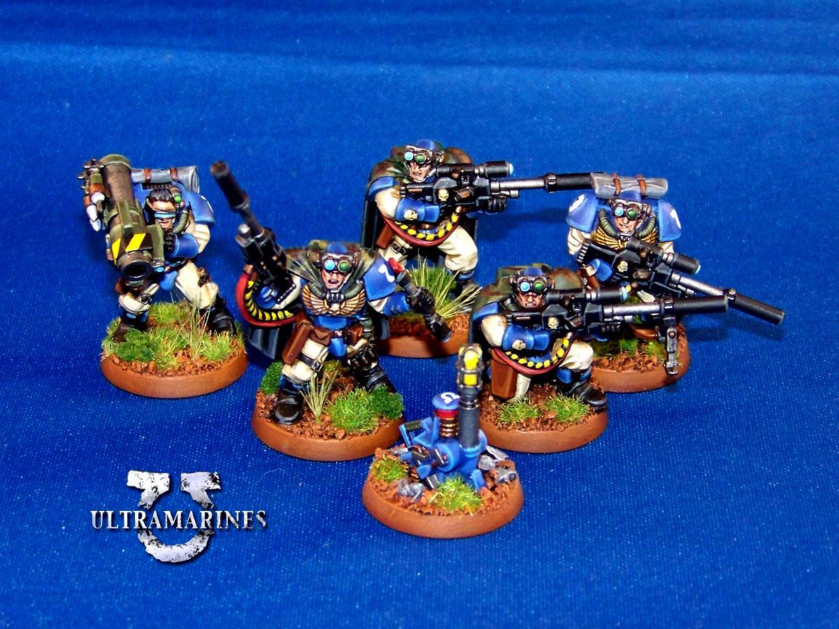 Adeptus Astartes, Camo Cloaks, Scouts, Space Marines, Ultramarines, Warhammer 40,000