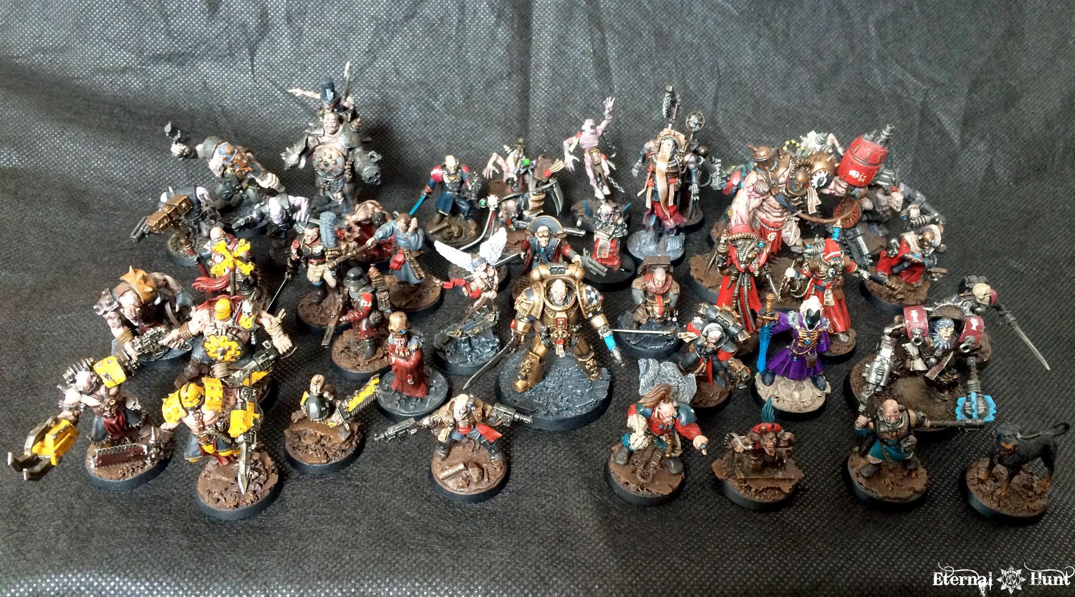 Collection, Conversion, Inq28, Inquisimunda, Inquisitor, Inquisitor 28, Kitbash, Warhammer 40,000