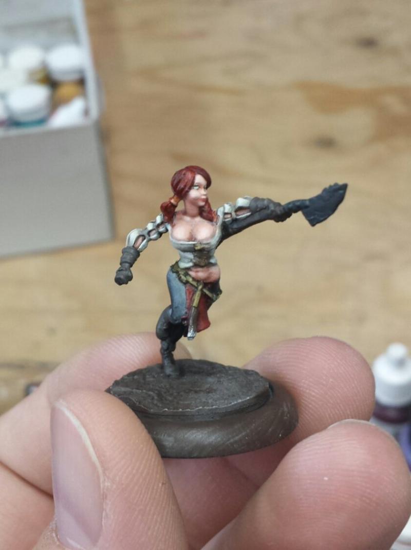 Female, Guild Ball, Redhead, Wip Butchers