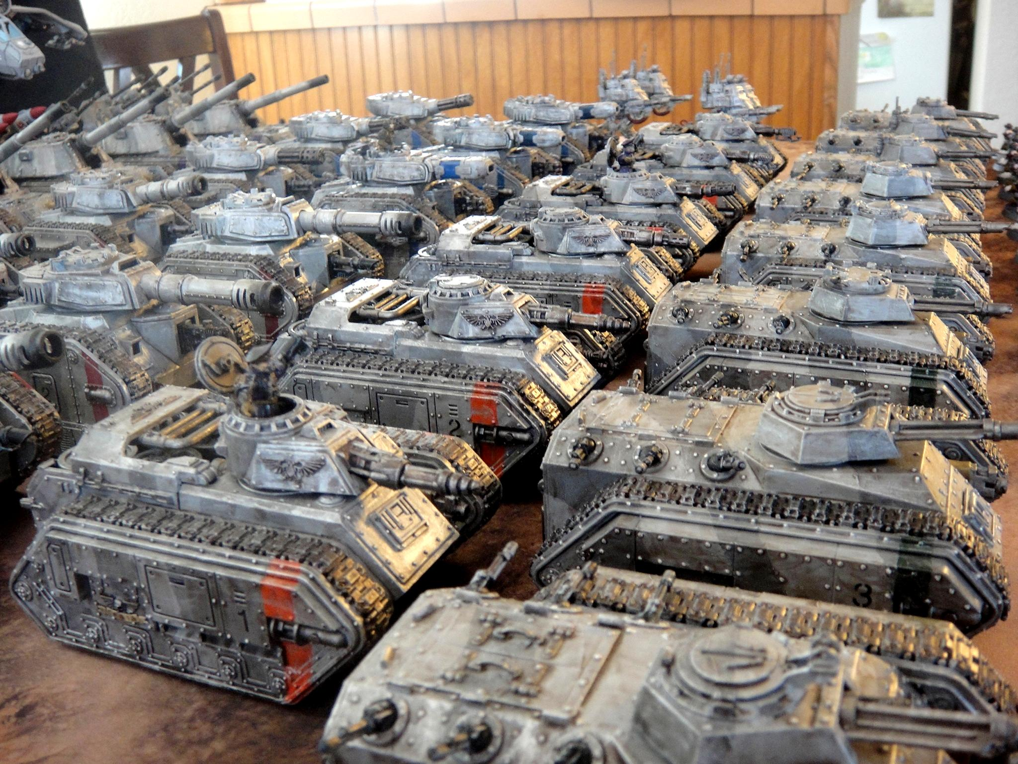 Armored Company, Basilisk, Chimera, Imperial Guard, Leman Russ, Mechanized Infantry