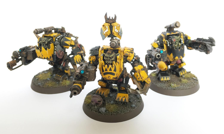Bad Moons, Manz, Mega Armor, Meganobz, Nob, Orks