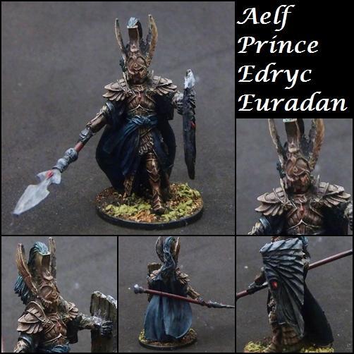 Aelf, Age Of Sigmar, High Elves, Noble, Non-Metallic Metal, Prince, Warhammer Fantasy