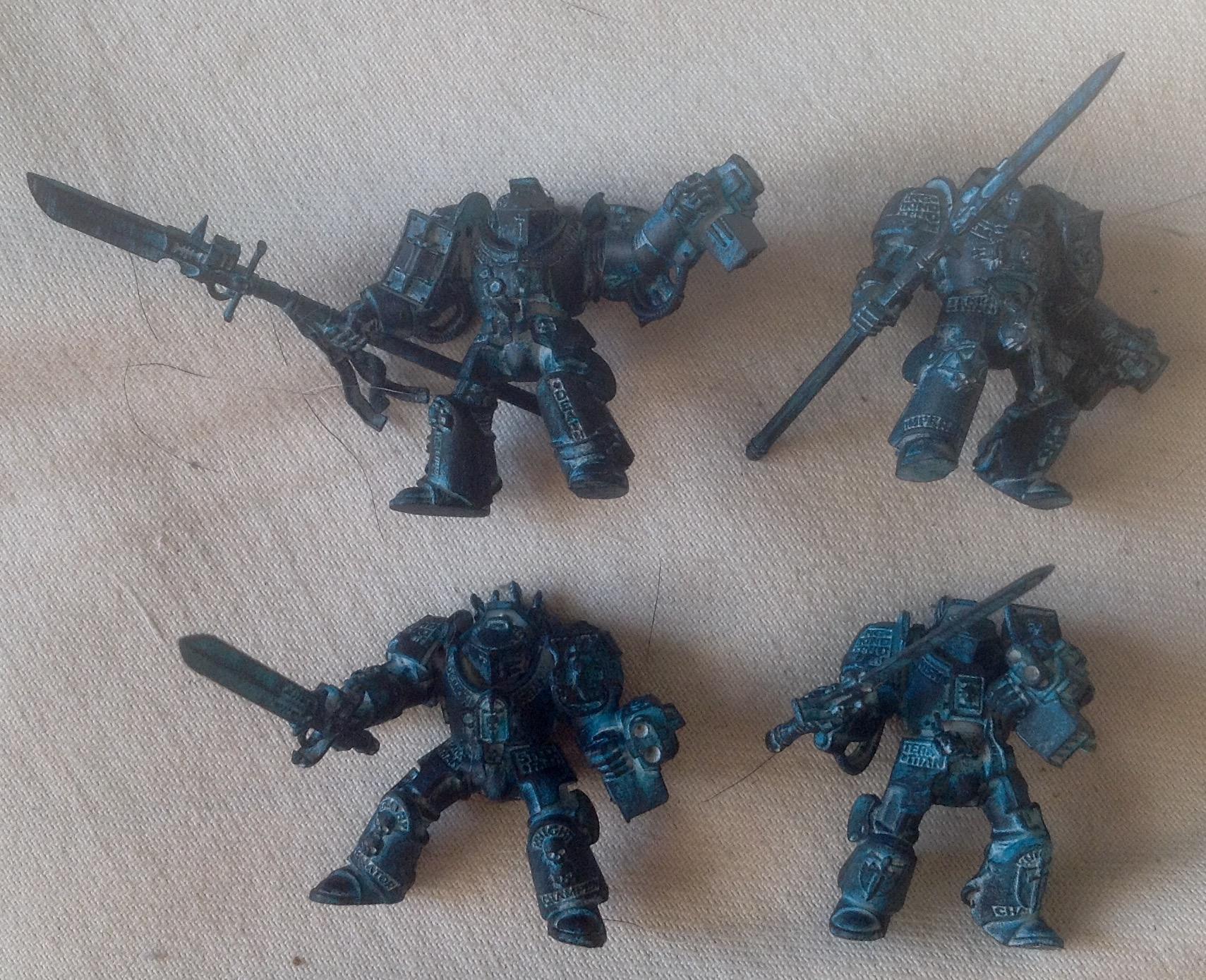 Grey Knights, Terminator Armor, Warhammer 40,000, Work In Progress