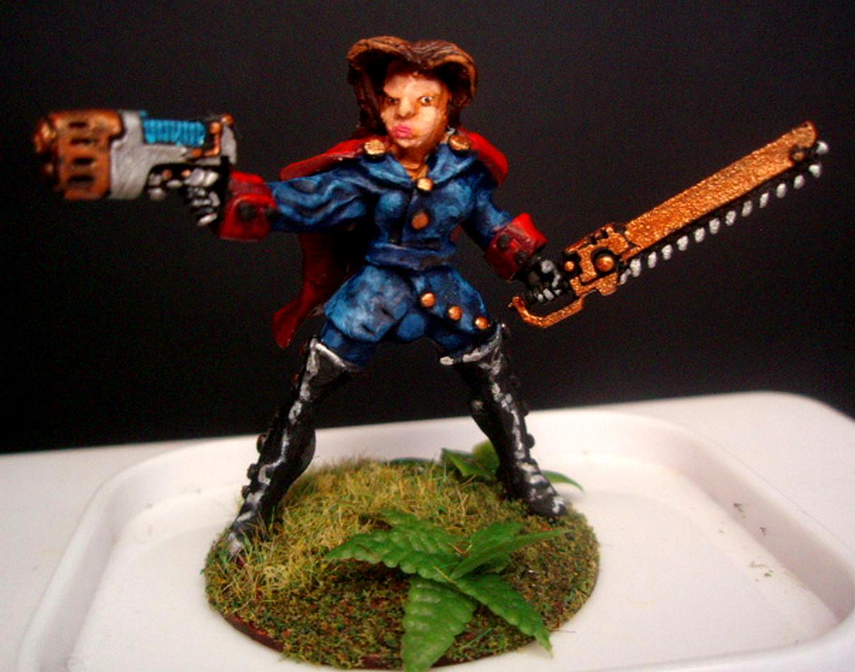 Commissar 3 painted