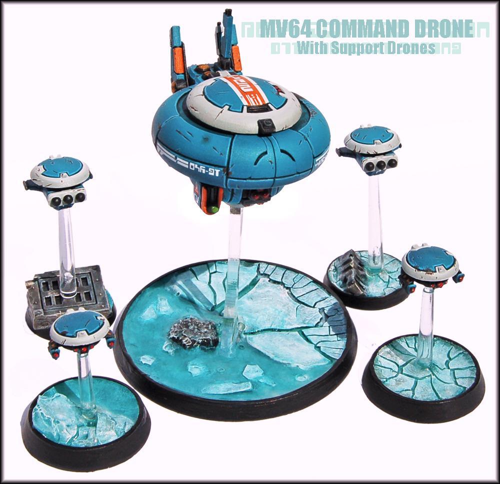 Battlesuit, Buffmander, Command Drone, Commander, Conversion, Drone, Drones, Tau, Tau Commander, Tau Empire, Warhammer 40,000