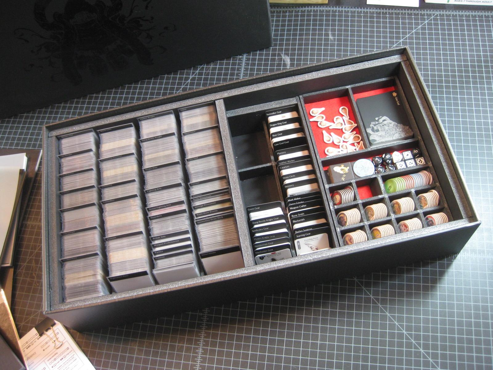 Board Game, Box, Death, Kingdom, Monster, Organization