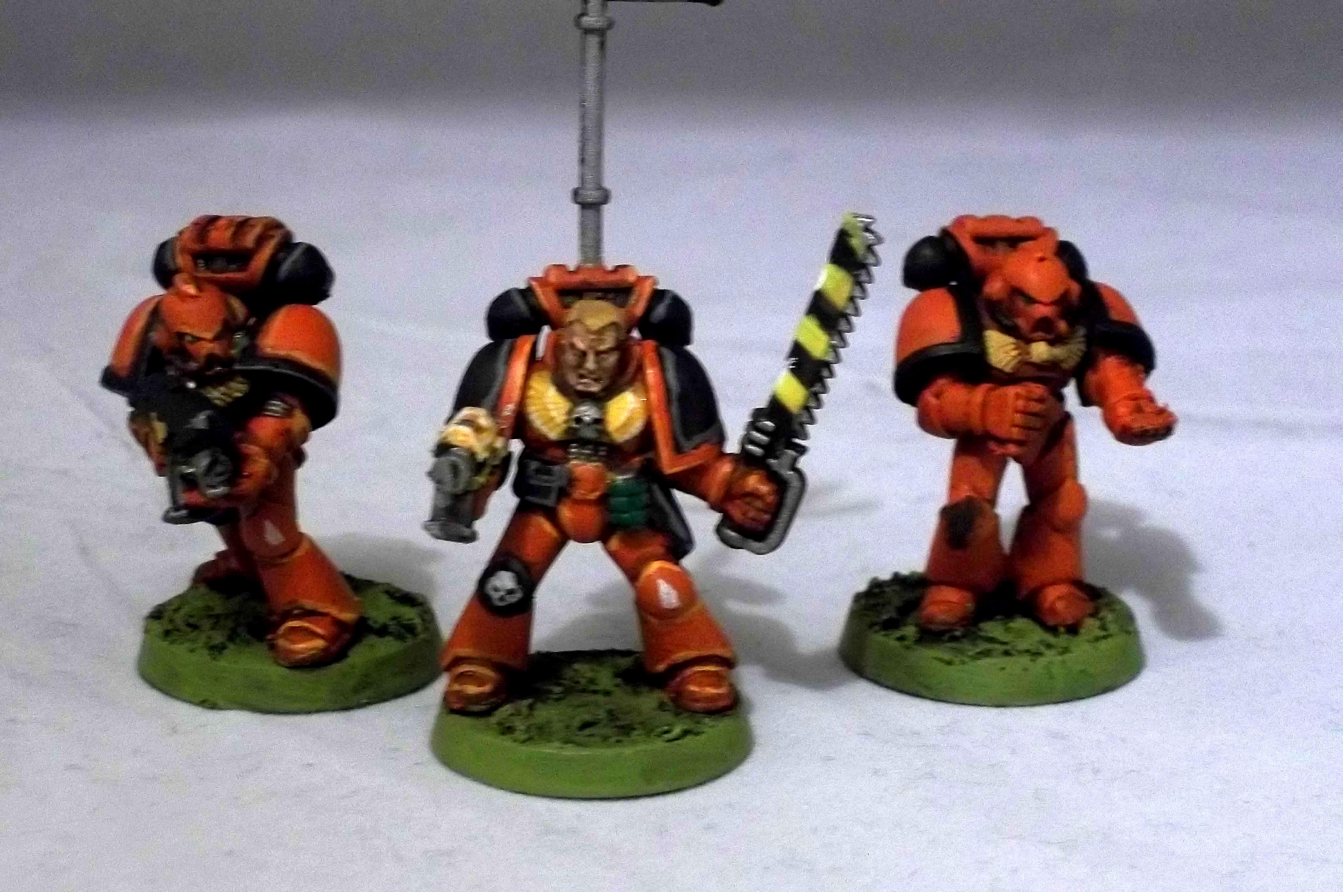 2nd Edition, Blood Angels, Retro, Rogue Trader, Space Marines, Work In Progress