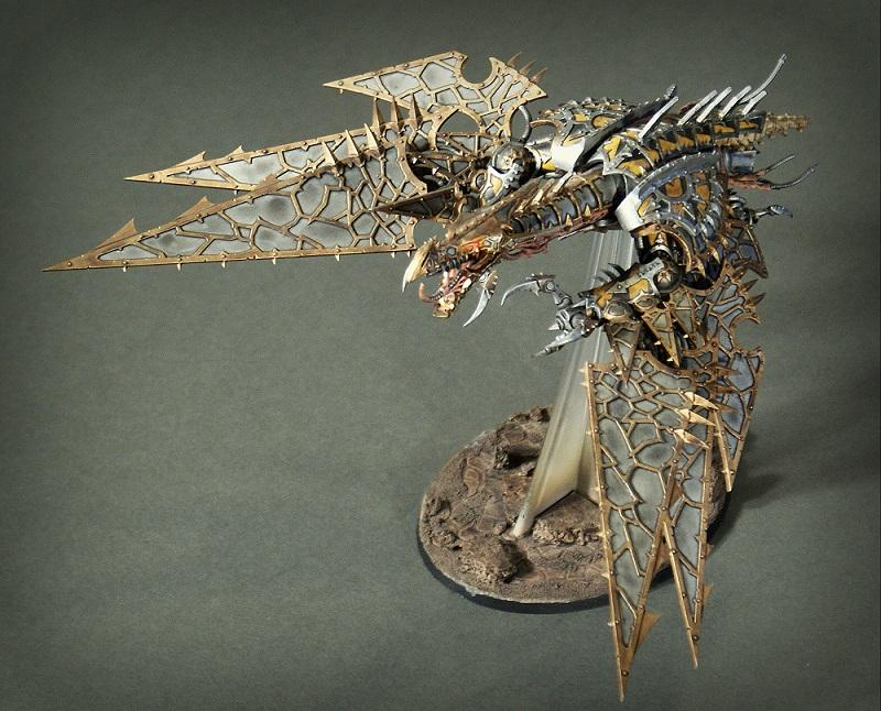 Chaos Space Marines, Heldrake, Iron Warriors, Warhammer 40,000