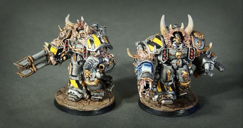 Centurion, Chaos Space Marines, Iron Warriors, Obliterators, Warhammer 40,000