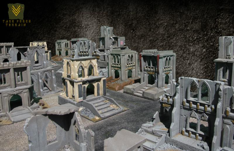 Buildings Cities Of Death Game Table Terrain Warhammer 40000