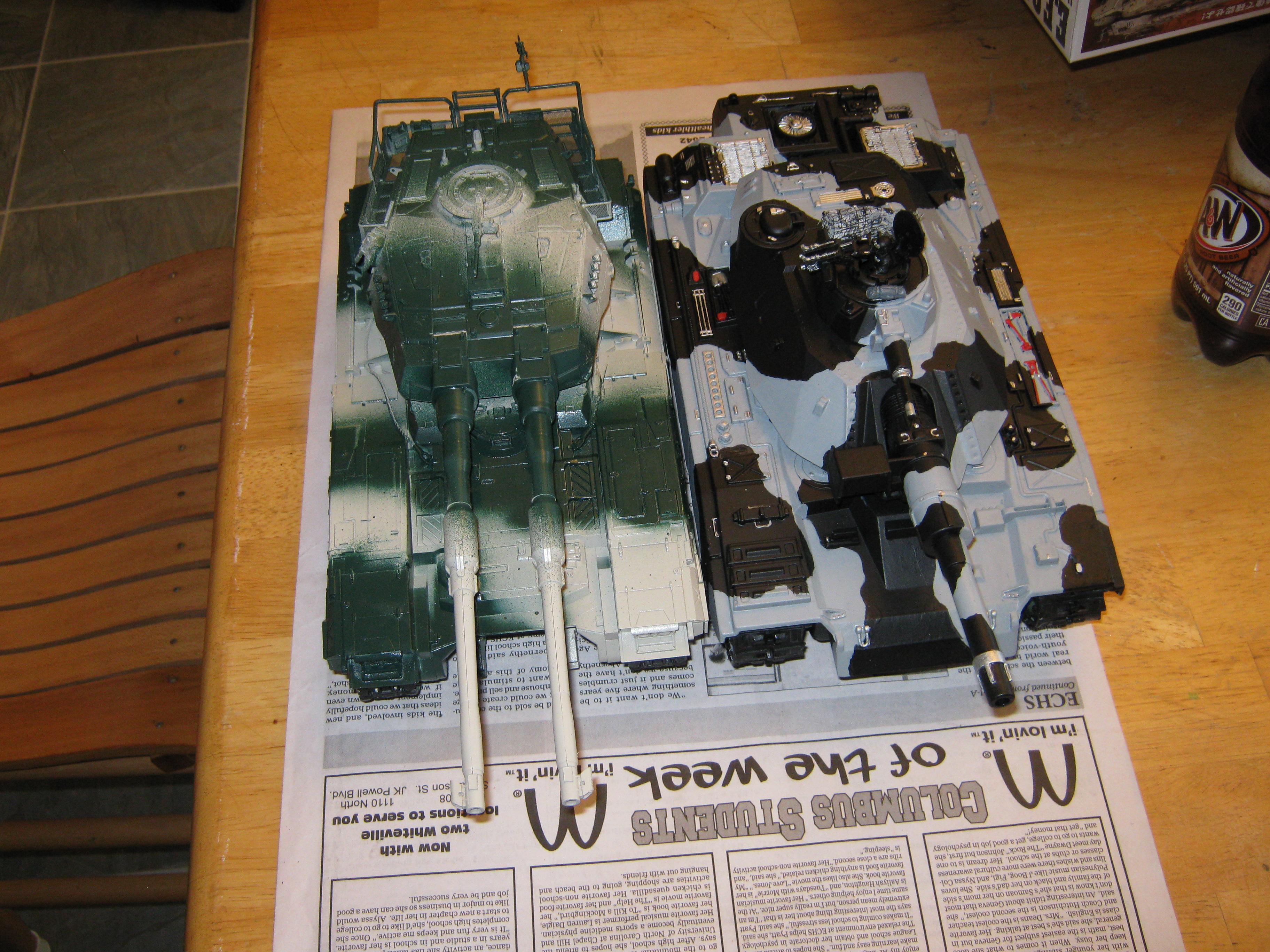 Gundam, M61a5, Super-heavy, Tank, Type 61