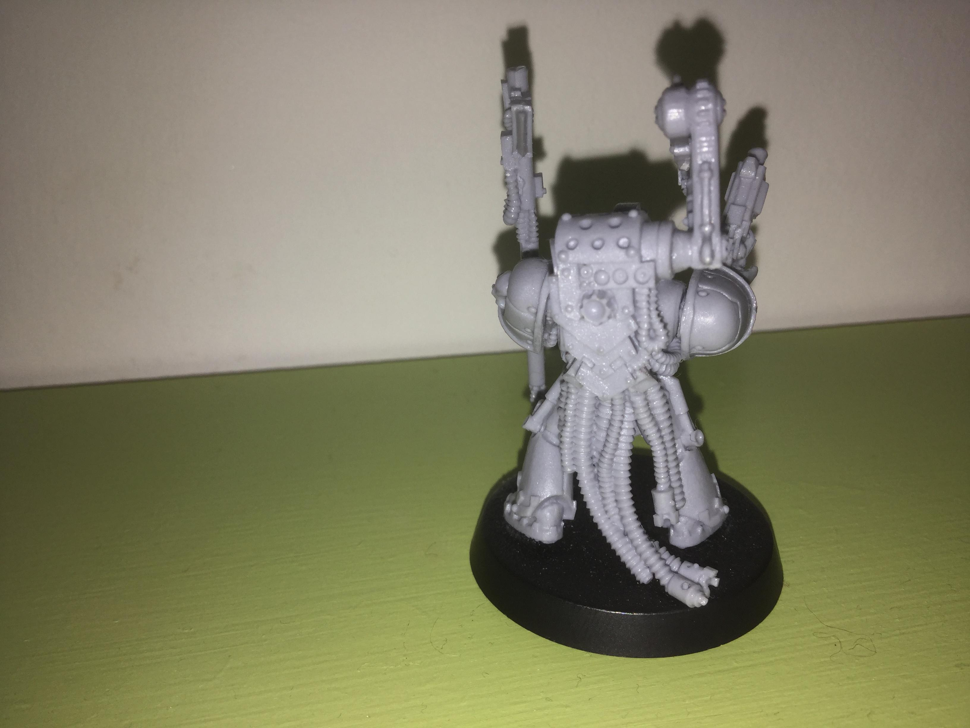 30k, Space Wolves, 30k space wolf ironpriest back