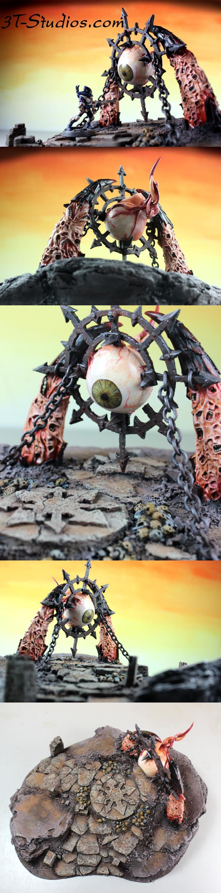 Chaos, Daemons, Eyeball, Possessed, Ruins