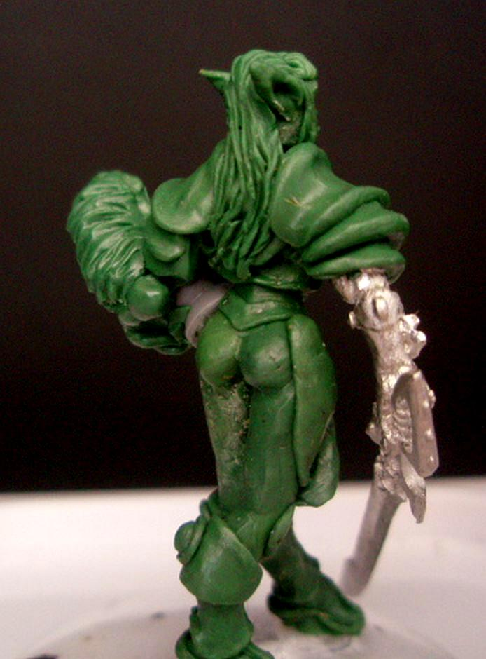 40k Eldar, Eldar Sculpts, Hot Eldar Chick Eldar Games Workshop, Howling Banshee Sculpts