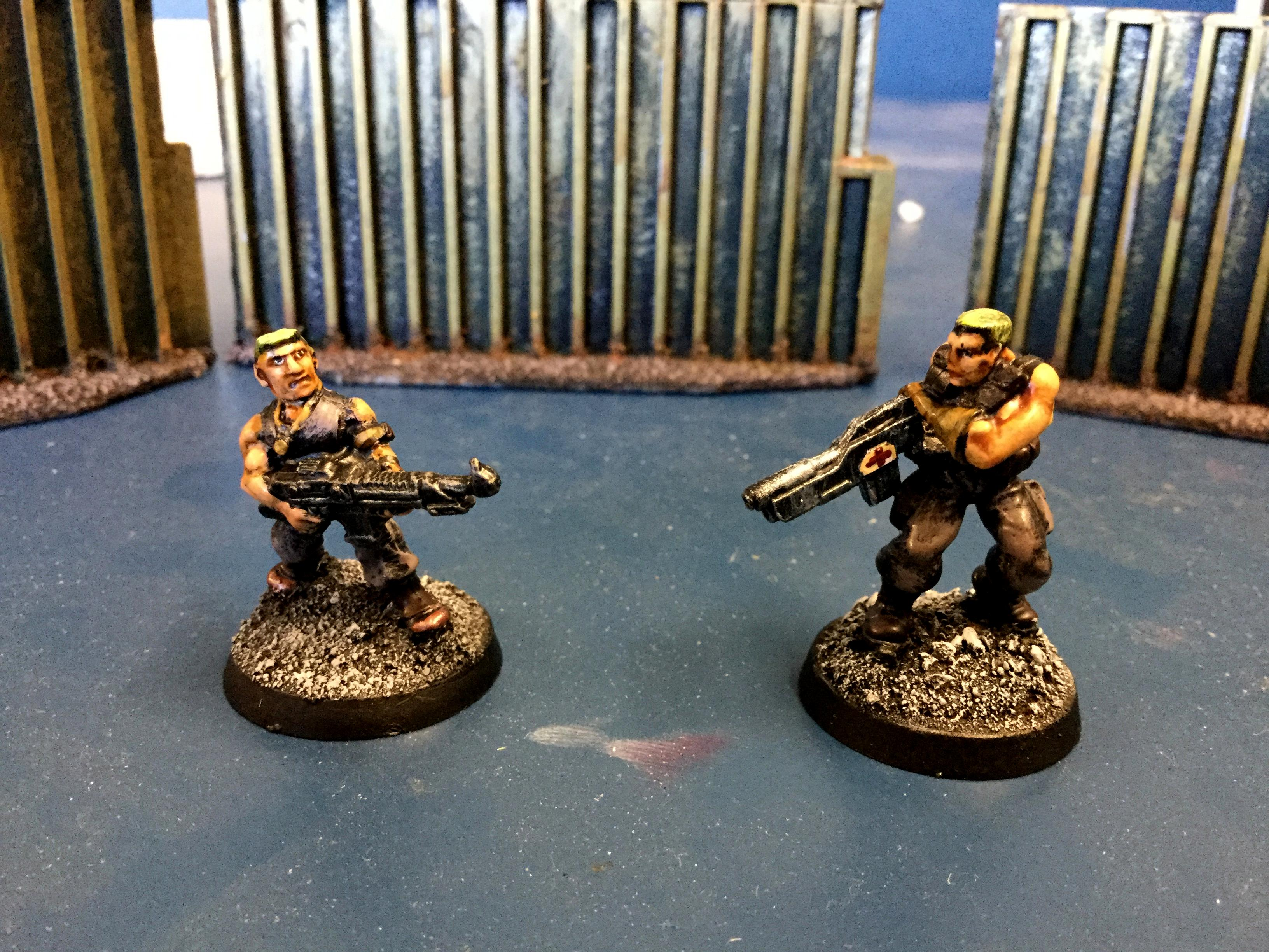 Two imperial guardsmen