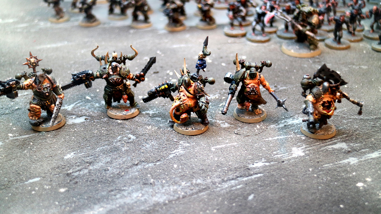Blight Kings, Blightking, Chaos Space Marines, Chosen, Nurgle