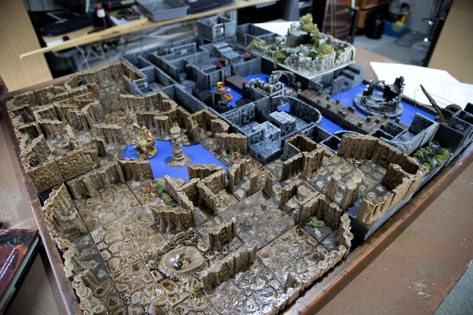 5e, Bolt Action, Dungeons And Dragons, Flames Of War, Frostgrave, Warhammer 40,000