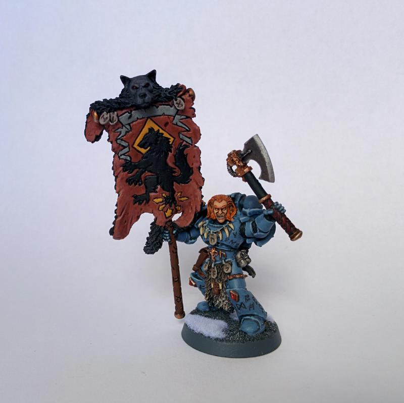 Space Wolves Banners Banner, Blackma...