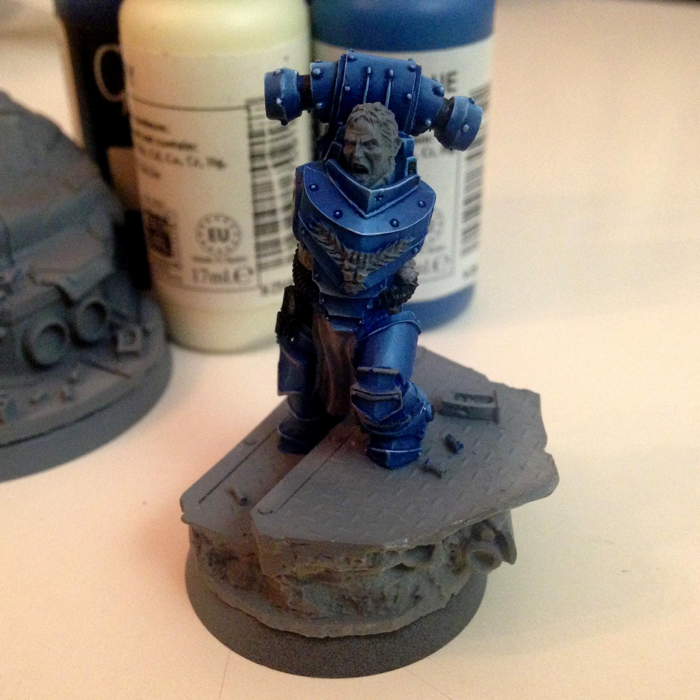 Alexis Polux, Crimson Fists, Imperial Fists, Space Marines, Warhammer 40,000, Warhammer Fantasy