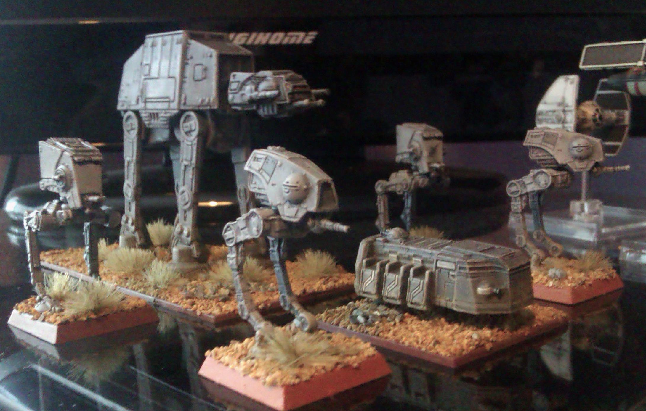 6mm, AT-AT, At-dp, At-st, Empire, Epic, Imperial, Mech, Robot, Star Wars, Vehicle, Walkers